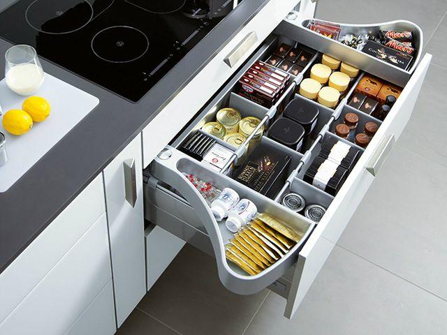 зона хранения на кухне