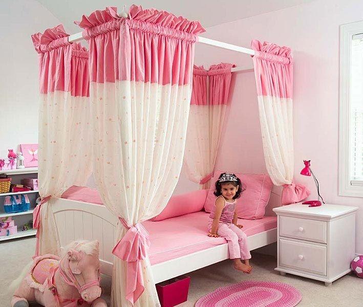 Балдахин в детской спальне
