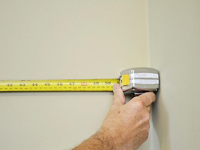 как измерить комнату