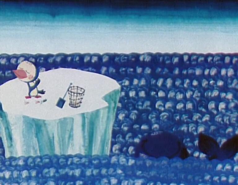 Сказка о белой льдинке